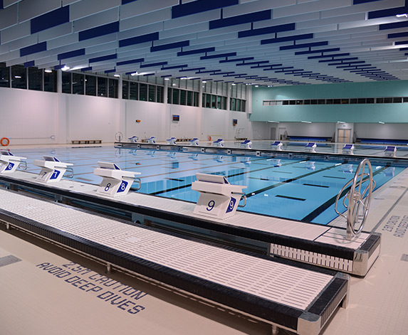 Pan Am Aquatic Centre (Toronto) project by Master Pools Alta