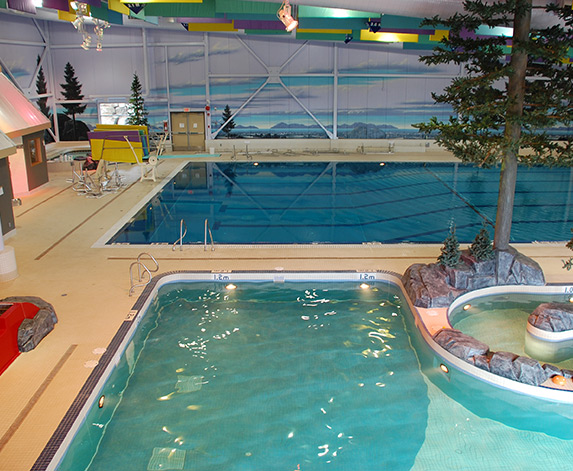 Sechelt Aquatic Centre project by Master Pools Alta